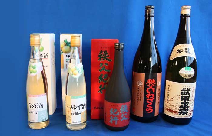 日本酒・手作りジャム