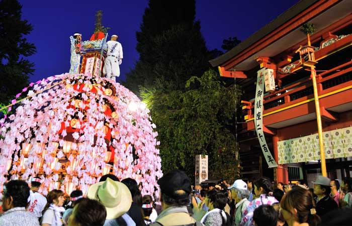 川瀬祭りの様子