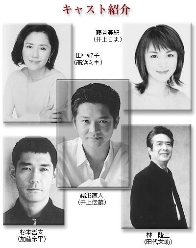 映画「草の乱」キャスト紹介